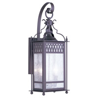 Livex Lighting Westfield 2 Light Outdoor Wall Lantern in Bronze 4742-07