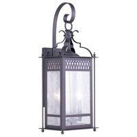 Livex Lighting Westfield 2 Light Outdoor Wall Lantern in Bronze 4743-07