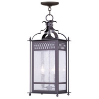Livex Lighting Westfield 2 Light Outdoor Hanging Lantern in Bronze 4745-07