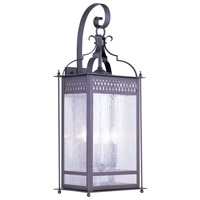 Livex Lighting Westfield 4 Light Outdoor Wall Lantern in Bronze 4747-07