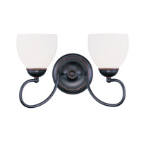 Livex 4752-67 Brookside 2 Light 15 inch Olde Bronze Bath Light Wall Light photo thumbnail