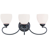 Livex Lighting Brookside 3 Light Bath Light in Olde Bronze 4753-67