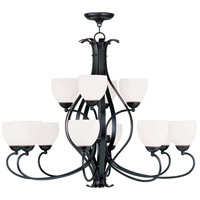 Livex Lighting Brookside 12 Light Chandelier in Olde Bronze 4779-67