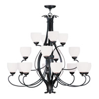 Livex Lighting Brookside 16 Light Chandelier in Olde Bronze 4789-67