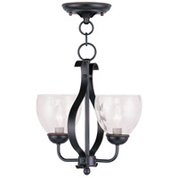 Livex 4804-67 Brookside 2 Light 13 inch Olde Bronze Pendant/Ceiling Mount Ceiling Light photo thumbnail