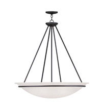 Livex Lighting Newburgh 5 Light Pendant in Black 4828-04