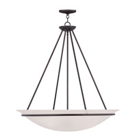 Livex Lighting Newburgh 5 Light Pendant in Bronze 4828-07