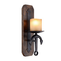 Livex 4861-67 Cape May 1 Light 6 inch Olde Bronze Wall Sconce Wall Light