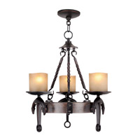 Cape May 3 Light 19 inch Olde Bronze Chandelier Ceiling Light