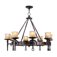 Livex Lighting Cape May 8 Light Chandelier in Olde Bronze 4868-67