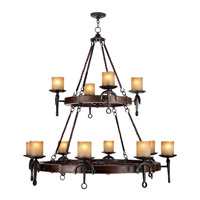Livex Lighting Cape May 12 Light Chandelier in Olde Bronze 4869-67