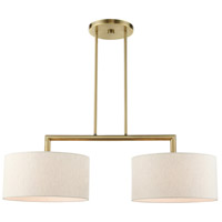 Livex Antique Brass Island Lights