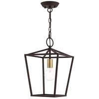 Livex 49432-07 Devonshire 1 Light 10 inch Bronze Convertible Semi Flush/Lantern Ceiling Light