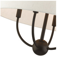 Livex 49444-92 Cartwright 4 Light 18 inch English Bronze Pendant Chandelier Ceiling Light alternative photo thumbnail
