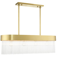 Livex 49826-33 Norwich 4 Light 12 inch Soft Gold Chandelier Ceiling Light