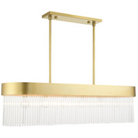 Livex 49830-33 Norwich 4 Light 12 inch Solid Gold Chandelier Ceiling Light
