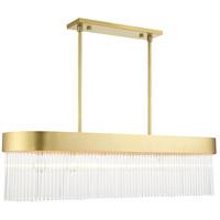 Livex Lighting 49830-33 Norwich 6 Light 12 inch Soft Gold Chandelier Ceiling Light