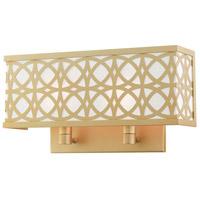 Livex 49877-33 Calinda 2 Light 15 inch Soft Gold ADA Double Sconce Wall Light