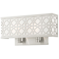 Livex Brushed Nickel Calinda Wall Sconces