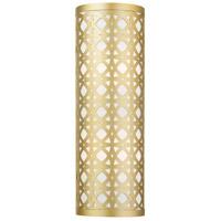 Livex Lighting 49879-33 Calinda 2 Light 6 inch Soft Gold ADA ADA Sconce Wall Light