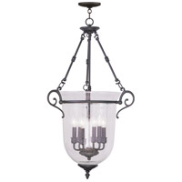 Livex Lighting Legacy 6 Light Pendant in Bronze 5026-07