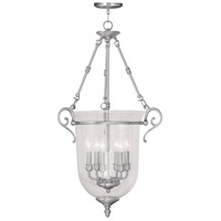 Livex Lighting Legacy 6 Light Pendant in Brushed Nickel 5026-91