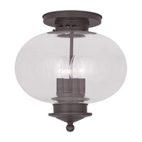 Livex Lighting Harbor 4 Light Ceiling Mount in Bronze 5039-07