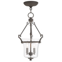Livex 50402-07 Buchanan 2 Light 11 inch Bronze Pendant Ceiling Light