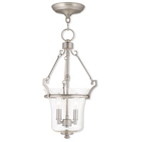 Livex Lighting Buchanan 2 Light Pendant in Brushed Nickel 50402-91