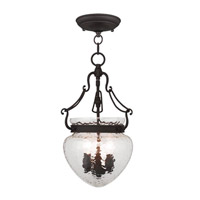 Livex Lighting Duchess 3 Light Pendant/Ceiling Mount in Bronze 5041-07
