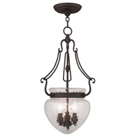 Livex Lighting Duchess 3 Light Pendant in Bronze 5043-07