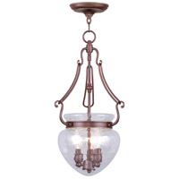 Livex 5043-70 Duchess 3 Light 12 inch Vintage Bronze Pendant Ceiling Light