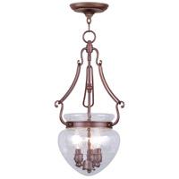 Livex 5043-70 Duchess 3 Light 12 inch Vintage Bronze Pendant Ceiling Light