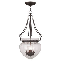 Livex Lighting Duchess 4 Light Pendant in Bronze 5044-07