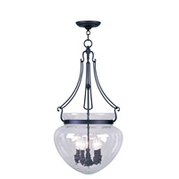 Livex Lighting Duchess 5 Light Pendant in Black 5045-04