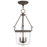 Rockford 3 Light 12 inch Bronze Pendant Ceiling Light