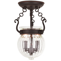 Everett 2 Light 9 inch Olde Bronze Flush Mount Ceiling Light