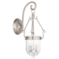 Livex Coventry 2 Light Wall Sconce in Brushed Nickel 50511-91