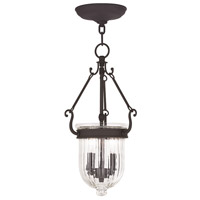 Livex 50513-07 Coventry 2 Light 9 inch Bronze Pendant Ceiling Light