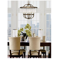 Livex 50548-64 Ashton 8 Light 28 inch Hand Painted Palacial Bronze Chandelier Ceiling Light