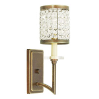 Livex Grammercy 1 Light Wall Sconce in Hand Painted Palacial Bronze 50561-64