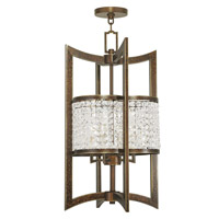 Livex 50567-64 Grammercy 4 Light 14 inch Hand Painted Palacial Bronze Foyer Lantern Ceiling Light