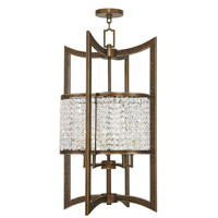 Grammercy 5 Light 17 inch Hand Painted Palacial Bronze Foyer Lantern Ceiling Light