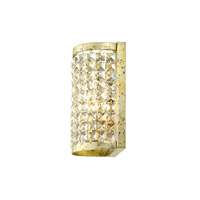 Livex 50571-28 Grammercy 1 Light 6 inch Hand Applied Winter Gold ADA Wall Sconce Wall Light alternative photo thumbnail