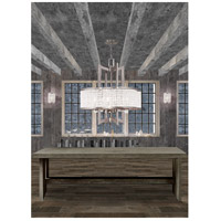 Livex 50575-91 Grammercy 4 Light 22 inch Brushed Nickel Chandelier Ceiling Light alternative photo thumbnail