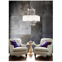 Livex Grammercy 4 Light Chandelier in Brushed Nickel 50575-91