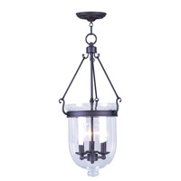 Livex Lighting Jefferson 3 Light Pendant in Bronze 5064-07