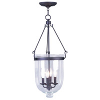 Livex Lighting Jefferson 4 Light Pendant in Bronze 5065-07