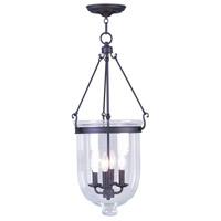 Livex 5065-07 Jefferson 4 Light 14 inch Bronze Pendant Ceiling Light