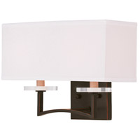 Livex Woodland Park 2 Light Wall Sconce in Olde Bronze 50702-67